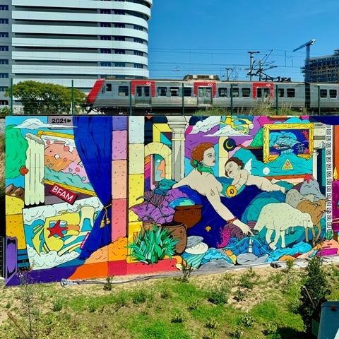 Pauser Mural – MURO 2021 Lisboa