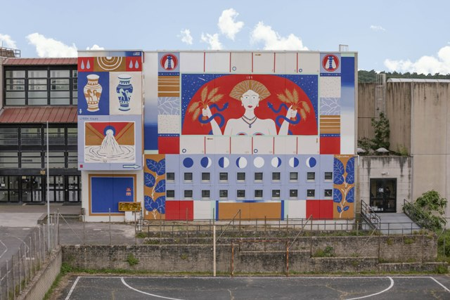 VETUS ALIA NATURA VEI Commonplace Mural