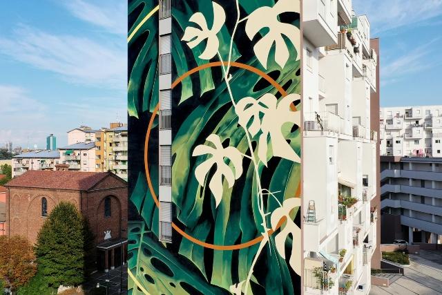 Fabio Petani mural in Milan