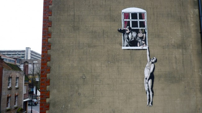 Where to find Banksy murals in Bristol