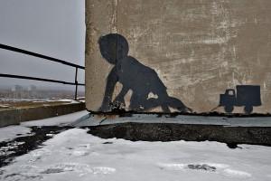 Chernobyl Street art