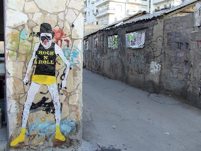Mimi the clown - I Support Street ArtI Support Street Art